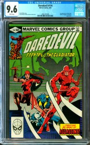 Daredevil #174 CGC Graded 9.6 1st appearance of the Hand
