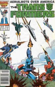 Transformers, The #21 (Newsstand) FN; Marvel | save on shipping - details inside