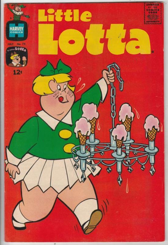 Little Lotta #78 (Jul-68) FN/VF Mid-High-Grade Little Lotta