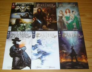 Caliber: First Canon of Justice #1-5 VF/NM complete series + fcbd KING ARTHUR