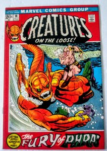 Creatures On The Loose #18 (VF+) 1972 Classic Bronze Age Marvel ID29H