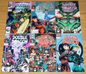 Double Dragon #1-6 VF/NM complete series based on video game - guest: STAN LEE