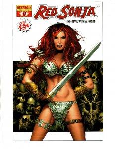Red Sonja She Devil with Sword #0 - White Cover - Dynamite - 2005 - (-NM)