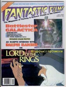 FANTASTIC FILMS #6, BattleStar Galactica, Tolkien, VF+ , Lord of the Rings