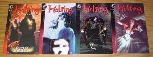 Helsing #1-2 VF/NM complete series + variant + dawn of armageddon VAMPIRE HUNTER
