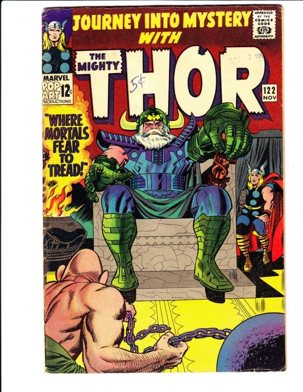 Journey into Mystery #122 (Nov-65) VG Mid-Grade Thor