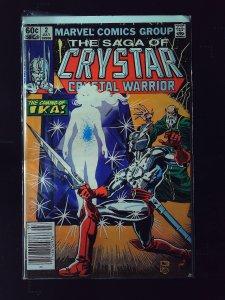 The Saga of Crystar, Crystal Warrior #2 (1983)