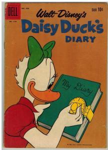 DAISY DUCKS DIARY F.C.1150 G+ Barks Dec.-Feb. 1961 COMICS BOOK