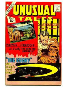 UNUSUAL TALES #31 1961- DITKO MONKEY COVER- FN/VF