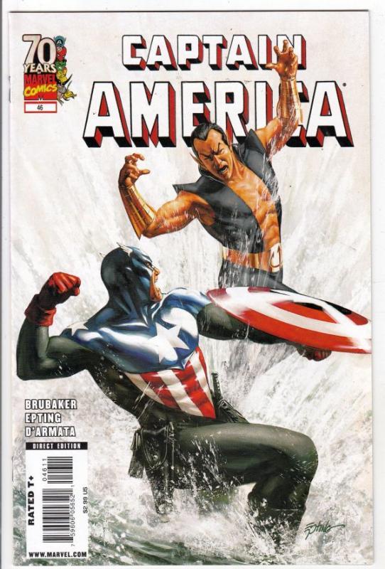 Captain America #46 (Mar-09) NM/MT Super-High-Grade Captain America aka Bucky...