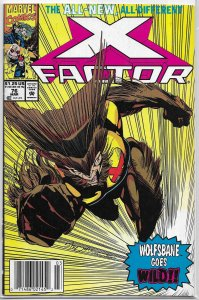 X-Factor   vol. 1   # 76 FN David/Raney/West, Stroman cover, Pantheon