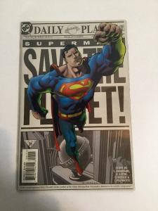 Superman Save The Planet 1 Variant NM Near Mint