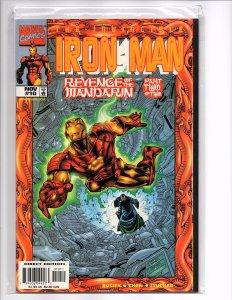 Marvel Comics Iron Man (Vol. 3) #10 Mandarin Sean Chen Art Kurt Busiek Story