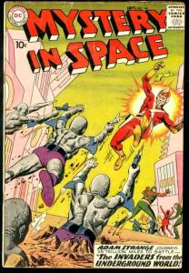 MYSTERY IN SPACE #54-WILD SCI-FI TALES-DC VG/FN