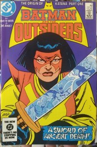 Batman and the Outsiders #11 (1984)