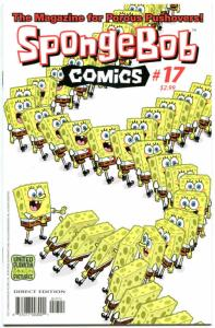 SPONGEBOB #17, NM, Square pants, Bongo, Cartoon comic, 2011, more in store