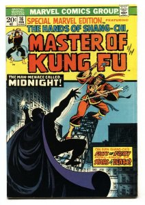 Special Marvel Edition #16-2nd Shang-Chi Master of Kung Fu-VF+