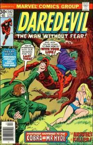 Marvel DAREDEVIL (1964 Series) #142 FN/VF