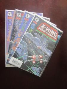 Star Wars X-Wing Rogue Squadron (1995) #32-35 Set - VF - 1998