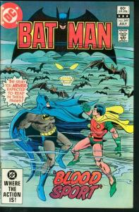 BATMAN #349-1982-DC VF