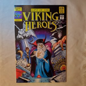 Last of the Viking Heroes 7 Very Fine+ Cover by Arthur Adams