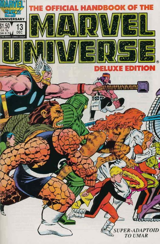 Official Handbook of the Marvel Universe (Vol. 2) #13 VF/NM; Marvel | save on sh
