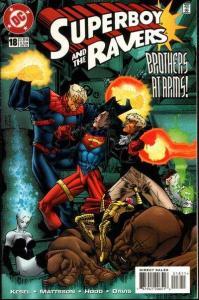 Superboy & the Ravers #18, VF (Stock photo)