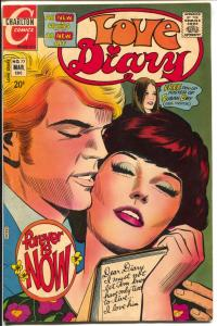 Love Diary #77 1972-Charlton-Susan Dey poster-spicy romance stories-FN
