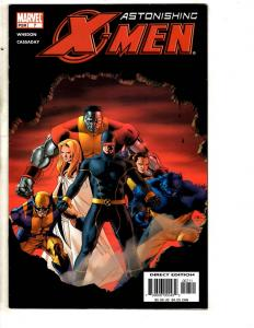 Lot Of 6 Astonishing X-Men Marvel Comic Books # 7 8 9 10 11 12 Wolverine MK6