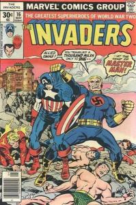 Invaders (1975 series) #16, Fine+ (Stock photo)