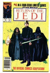 Star Wars The Return of the Jedi #4-1984-Newsstand variant NM-
