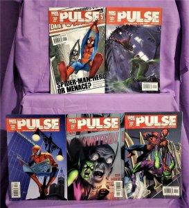 Brian Michael Bendis Spider-Man THE PULSE #1 - 5 Mark Bagley (Marvel, 2004)!
