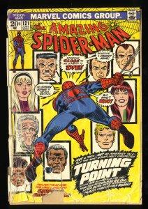 Amazing Spider-Man #121 Fair 1.0 Death of Gwen Stacy! Marvel Comics Spiderman