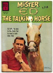 Mr Ed the Talking Horse- Four Color Comics #1295 1962- VG-