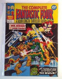 Complete Fantastic Four #24 (1978) Magazine Size Marvel UK 7.0 FN/VF Comic Book