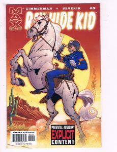 Rawhide Kid # 5 VF Max Comics Marvel Comics Comic Book Zimmerman DE17