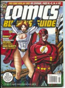 Comics Buyer's Guide #1656 2009-Flash & Power Girl-comic info & price guide-FN