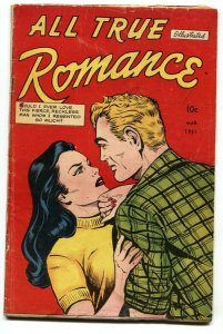 All True Romance #1 1951 Rare first issue - Golden-Age comic
