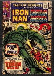 Tales Of Suspense #93 GD+ 2.5 Iron Man