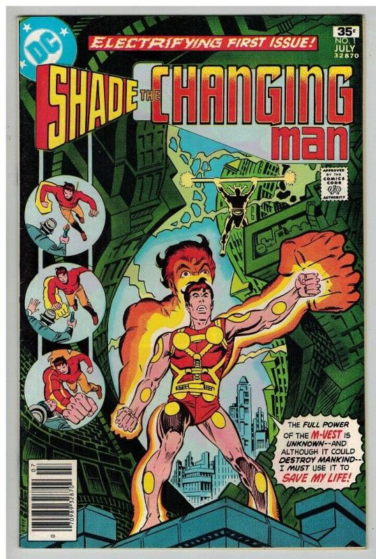 SHADE THE CHANGING MAN (1977) 1 VF June-July 1977