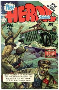 Heroic Comics #78 1952- Korean War- Jeep cover- Famous Funnies VF