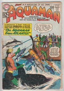 Aquaman #3 (Jun-62) VG+ Affordable-Grade Aquaman, Aqualad
