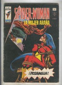 Spider Woman numero 03: Pesadilla (numerado 1 en trasera(