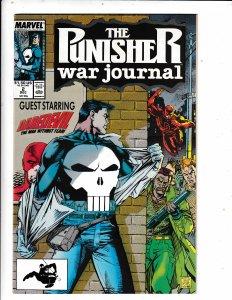 The Punisher War Journal #2 (1988) VF/FN MARVEL COMICS