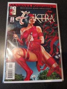 ELEKTRA #4 Greg Horn Cover Good Girl Art Sexy Marvel Knights Brian Bendis Ninja