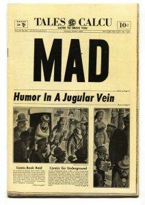 MAD #16 EC-1954-Wally Wood-Will Elder-Sherlock Holmes-Jack Davis-VF-