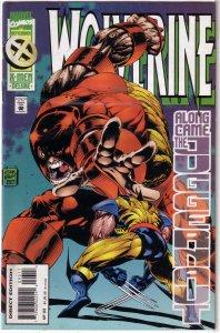 Wolverine (vol. 2, 1988) # 93 VG/FN Hama/Adam Kubert, Juggernaut