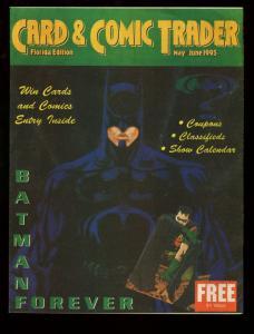 CARD AND COMIC TRADER 1995 MAY/JUN-BATMAN VF