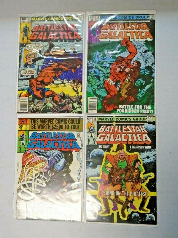 Battlestar Galactica from #1-23 20 Different Average 7.0 (1979-1980)