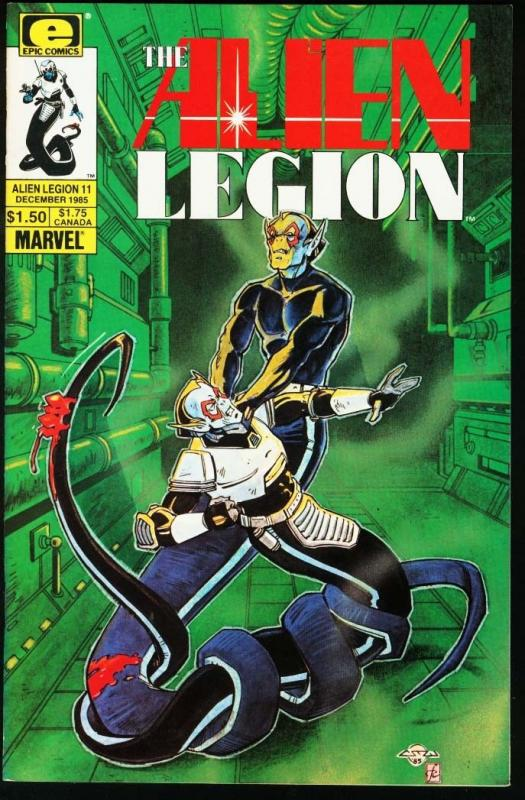 ALIEN LEGION #11-MARVEL/EPIC COMICS-FRANK CIROCCO NM